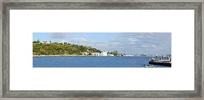 View Of Island, Havana, Cuba Framed Print