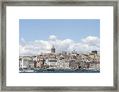 View Of Istanbul Framed Print