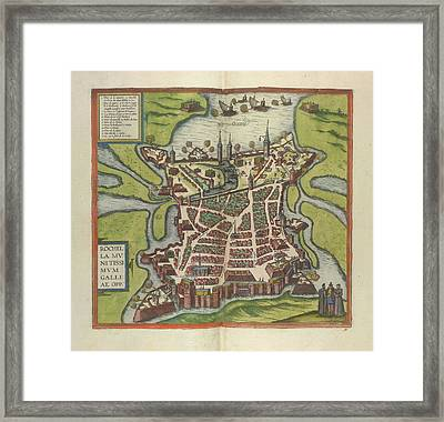 View Of La Rochelle Framed Print by British Library