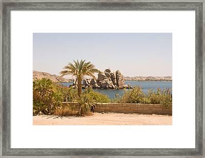 View Of Lake Framed Print
