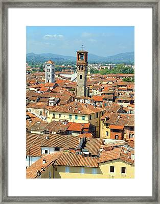 View Of Lucca Framed Print