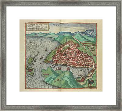 View Of Marseille Framed Print