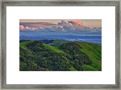 View Of Morro Bay Framed Print