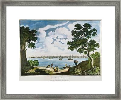 View Of New York 1801 Framed Print by Granger