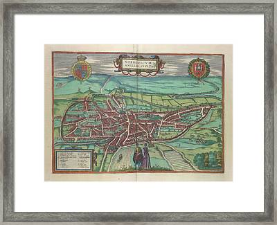 View Of Norwich Framed Print