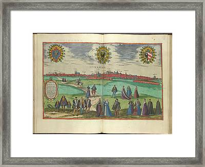 View Of Nuremberg Framed Print by British Library