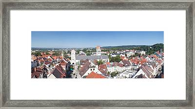 View Of Old Town With Liebfrauenkirche Framed Print by Panoramic Images