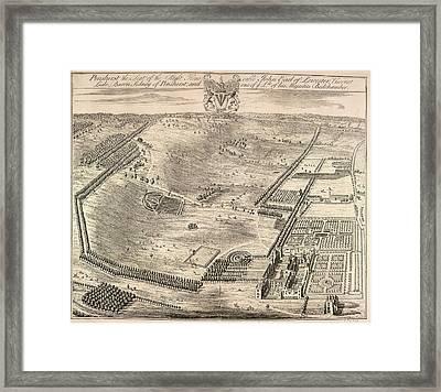 View Of Penshurst Framed Print