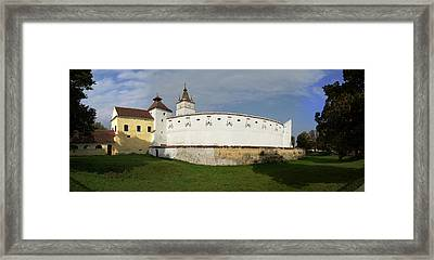 View Of Prejmer Fortified Church Framed Print