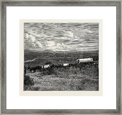 View Of Pretoria Framed Print by Litz Collection