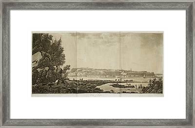 View Of Quebec Framed Print