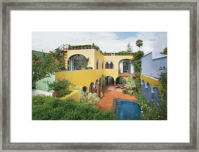 View Of Resort Framed Print by Scott Frances
