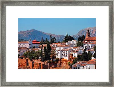 View Of Ronda I. Andalusia. Spain Framed Print