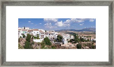 View Of Ronda, Malaga Province Framed Print by Panoramic Images