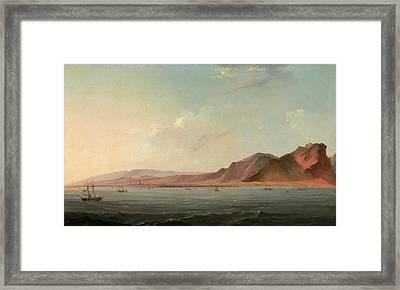 View Of Santa Cruz, Tenerife Signed And Dated Framed Print by Litz Collection