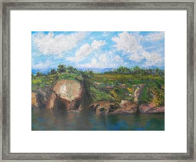 View Of Sausalito Framed Print by Robert DImperio
