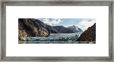 View Of Sawyer Glacier Framed Print by Panoramic Images