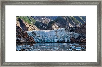 View Of Sawyer Glacier, Southeast Framed Print by Panoramic Images