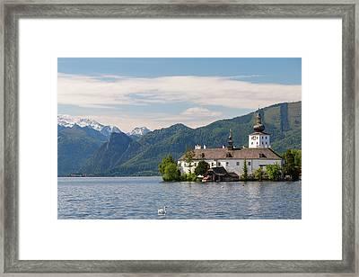 View Of Schloss Ort (castle Framed Print