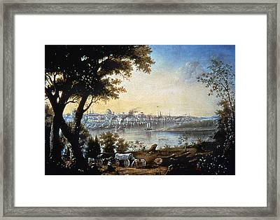 View Of St Louis, C1846 Framed Print