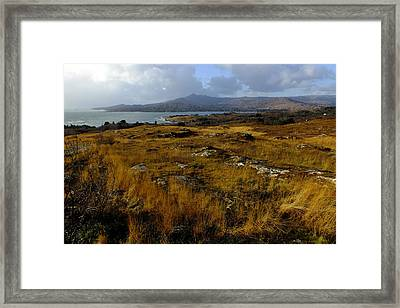 View Of Sugarloaf Mountain Framed Print