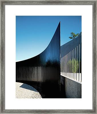 View Of Surrounding Wall Framed Print by Erhard Pfeiffer
