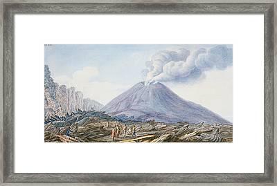 View Of The Atrio Di Cavallo Framed Print
