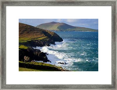 View Of The Blasket Island Framed Print