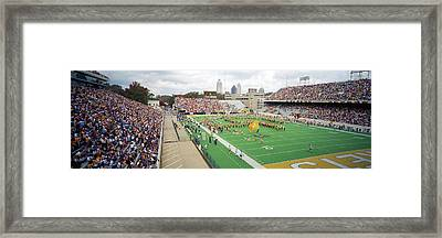 View Of The Bobby Dodd Stadium Framed Print by Panoramic Images
