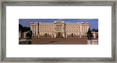 View Of The Buckingham Palace, London Framed Print by Panoramic Images