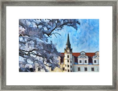 View Of The Castle Framed Print by Gynt