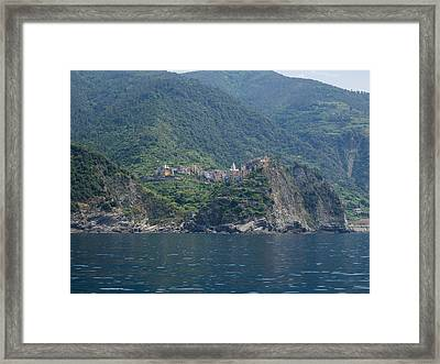 View Of The Corniglia, La Spezia Framed Print by Panoramic Images