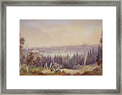 View Of The Golden Horn, C.1840 Framed Print by English School