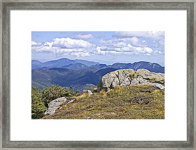 View Of The Great Range From Algonquin Framed Print