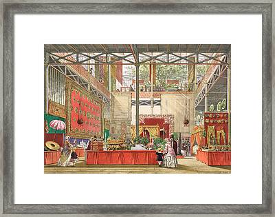 View Of The India Section Of The Great Framed Print