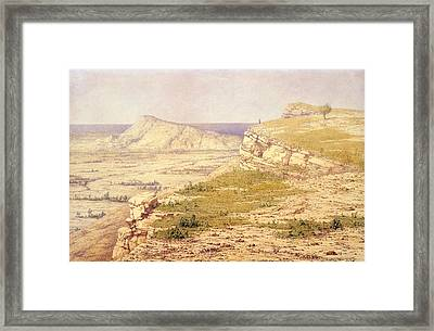 View Of The Island Of Rhodes Framed Print by Richard Dadd