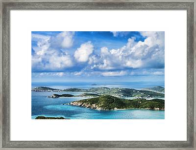 View Of The Islands Framed Print by Kathy Jennings
