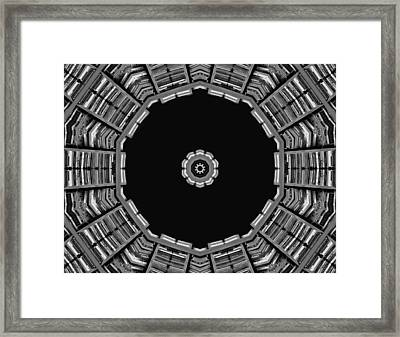 View Of The Library Framed Print by Dan Sproul