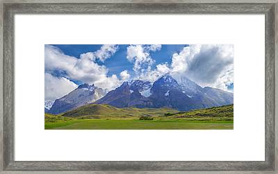 View Of The Monte Almirante Nieto R Framed Print by Panoramic Images