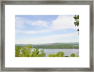 View Of The Mountains Of Alabama Framed Print