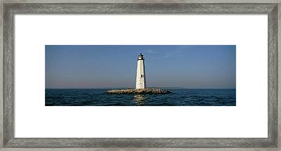 View Of The New Point Comfort Framed Print by Panoramic Images
