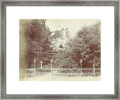 View Of The Park Villetta Di Negro In Genoa Framed Print by Artokoloro