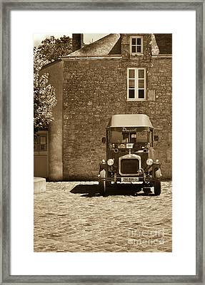 Framed Print featuring the photograph View Of The Past by Charles Lupica