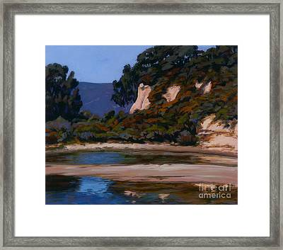 View Of The Slough Framed Print