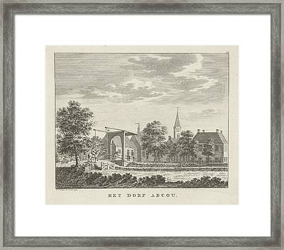 View Of The Village Abcoude, Jan Evert Grave Framed Print