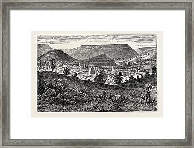 View Of Tirnova, The Old Capital Of Bulgaria Framed Print by Litz Collection