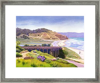View Of Torrey Pines Framed Print