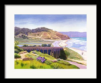 Torrey Pines Framed Prints