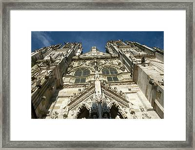 View Of Towers Of St Framed Print