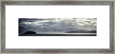 View Of Tucker Islets, Tierra Del Framed Print by Panoramic Images
